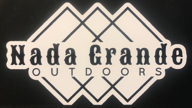 Nada Grande Outdoors Logo Decal