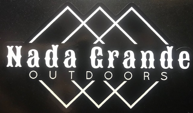 Nada Grande Outdoors Logo Decal